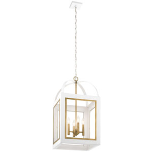 Vath White 30-Inch Four-Light Pendant