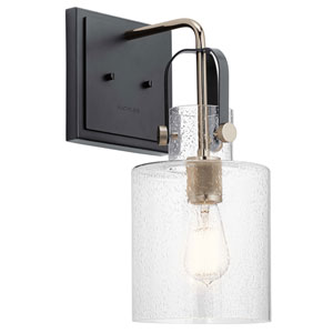 Kitner Polished Nickel One-Light Wall Sconce