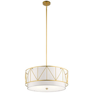 Birkleigh Classic Gold Four-Light Pendant