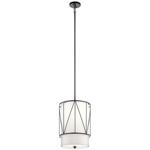 Birkleigh Black One-Light Pendant