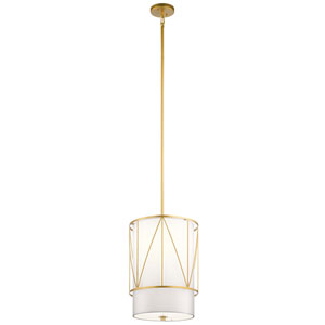Birkleigh Classic Gold One-Light Pendant