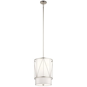 Birkleigh Satin Nickel One-Light Pendant
