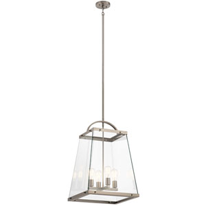 Darton Classic Pewter Four-Light Pendant