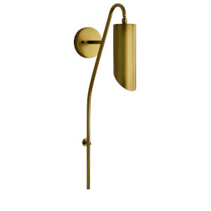 Trentino Natural Brass One-Light Wall Sconce