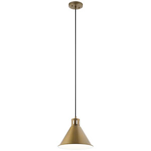 Zailey Natural Brass One-Light Pendant
