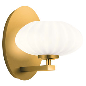 Pim Fox Gold One-Light Wall Sconce
