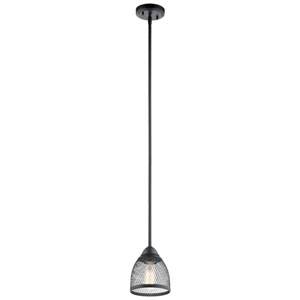 Voclain Black One-Light Mini Pendant