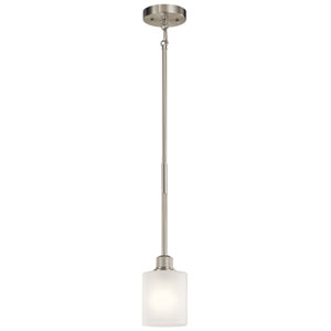 Lynn Haven Brushed Nickel One-Light Mini Pendant