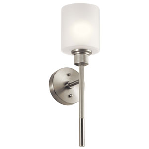 Lynn Haven Brushed Nickel One-Light Wall Sconce
