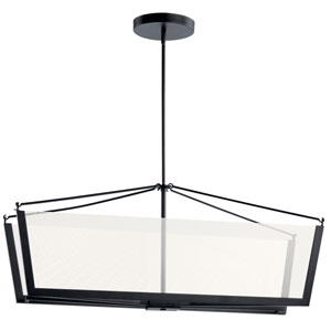 Calters Black LED Chandelier