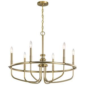 Capitol Hill Classic Bronze Six-Light Chandelier