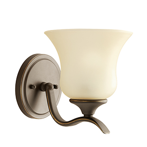 Wedgeport Olde Bronze One-Light Energy Star LED Wall Sconce