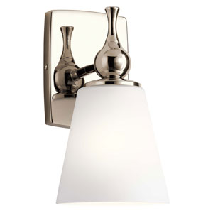Cosabella Polished Nickel Six-Inch One-Light Wall Sconce