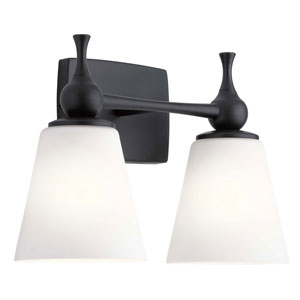 Cosabella Black Two-Light Bath Vanity