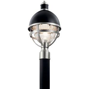 Tollis Black One-Light Outdoor Post Lantern