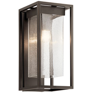 Mercer Olde Bronze Nine-Inch One-Light Outdoor Wall Mount