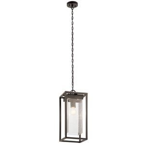Mercer Olde Bronze One-Light Outdoor Pendant