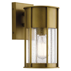 Camillo Natural Brass One-Light Outdoor Wall Mount