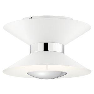 Kordan Matte White 14-Inch 11-Light LED Semi Flush Mount