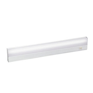 White Direct Wire Fluorescent 21-Inch Under Cabinet Light