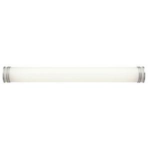 White Two-Light Fluorescent Bath Light