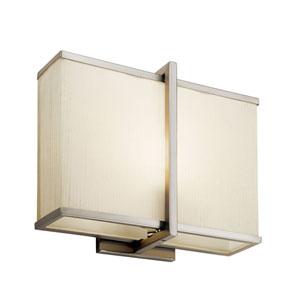 Rigel Satin Nickel One-Light Fluorescent Wall Bracket