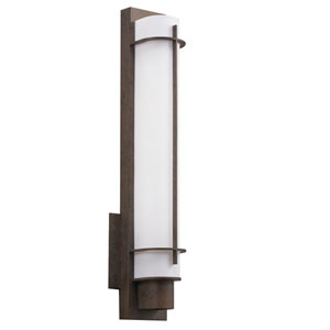 Visalia Olde Bronze One-Light Fluorescent Wall Bracket