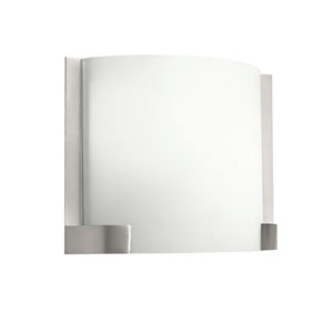 Nobu Brushed Nickel Two-Light Fluorescent Wall Bracket