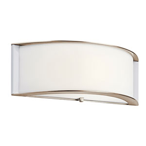 Polished Nickel 15-Inch Energy Star LED Wall Sconce