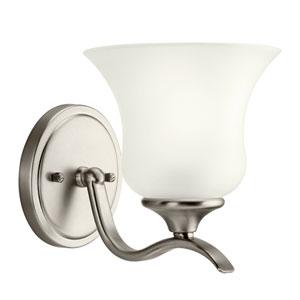 Wedgeport Brushed Nickel One-Light Bath Light