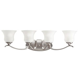 Wedgeport Brushed Nickel Four-Light Bath Light