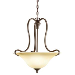 Wedgeport Olde Bronze Two-Light Bowl Pendant