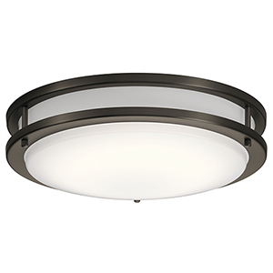 Avon Olde Bronze 14-Inch LED Flush Mount