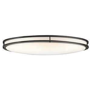 Avon Olde Bronze 18-Inch LED Flush Mount
