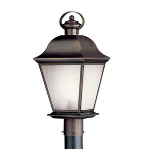 Mount Vernon Olde Bronze Outdoor Post Light
