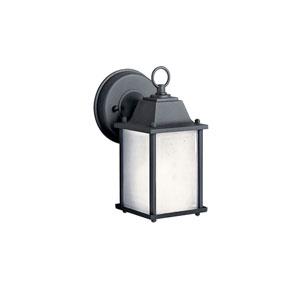 New Street Black Outdoor Wall-Mounted Lantern