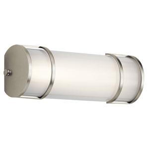 Brushed Nickel 13-Inch Energy Star LED Bath Bar