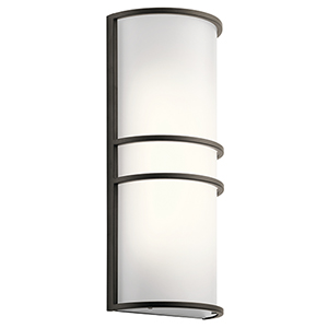 Olde Bronze 7-Inch LED Wall Sconce