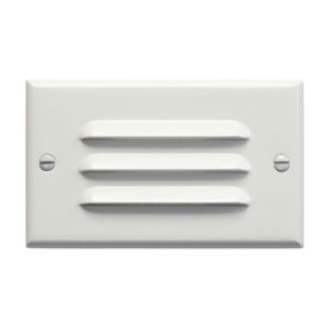 Step and Hall Light White Horizontal Louver LED Step Light