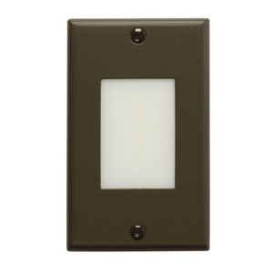 Step and Hall Light Architectural Bronze Lens LED Step Light
