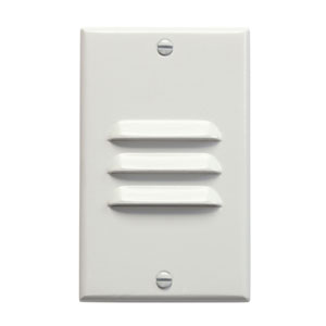 Step and Hall Light White Vertical Louver LED Step Light