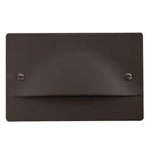 12662AZ Architectural Bronze LED Non-Dimmable Step Light