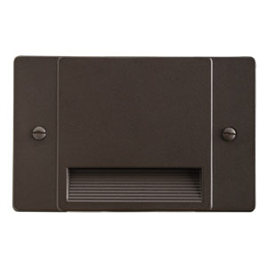 12663AZ Architectural Bronze LED Non-Dimmable Step Light