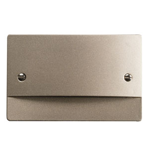 12664NI Brushed Nickel LED Non-Dimmable Step Light