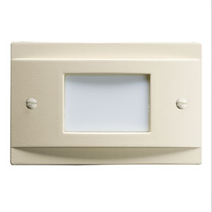 12665ALM Almond LED Non-Dimmable Step Light