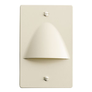 12667ALM Almond LED Non-Dimmable Step Light