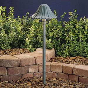 Textured Midnight Spruce 23-Inch One-Light Landscape Path Light