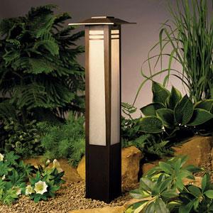 Zen Garden Olde Bronze 26-Inch One-Light Landscape Path Light