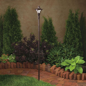 Cotswold Aged Bronze 59-Inch One-Light Landscape Path Light