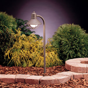 Seaside Olde Brick 25.5-Inch One-Light Landscape Path Light